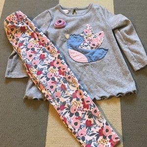Mud Pie Outfit 4T
